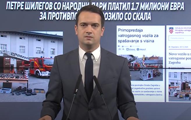 Нелоски: Се раѓа новиот Рашковски, фирмата на зетот на секретарот на Шилегов добила 4 милиони евра државни тендери за 4 години