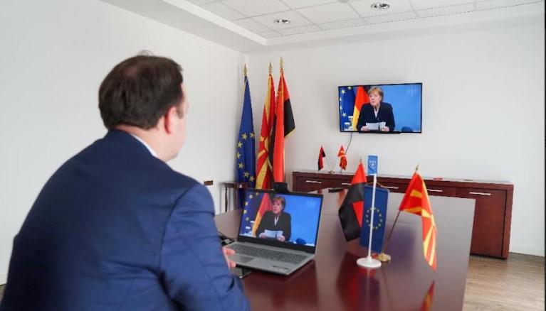 Николоски и Ѓорчев на онлајн конференција во организација на пратеничката група на ЦДУ-ЦСУ