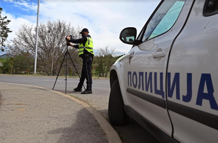 ФРЧАТ КАЗНИ: За 6 часа санкционирани 67 возачи на автопатот Скопје-Велес