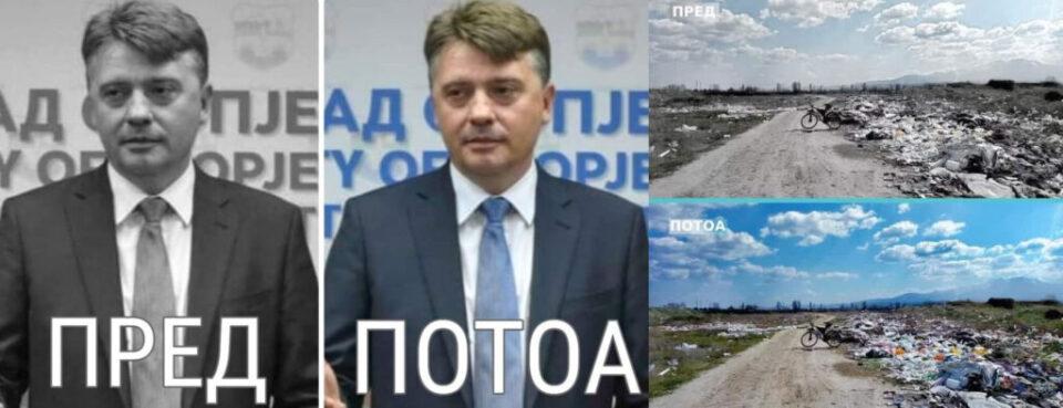 "ЕДНА ПОИНАКВА ПРИКАЗНА ЗА СКОПЈЕ: Градоначалникот Шилегов – ""пред"" и ""потоа"""