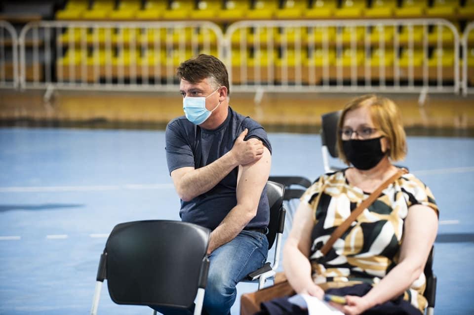 Шилегов се вакцинираше вечерва (ФОТО)