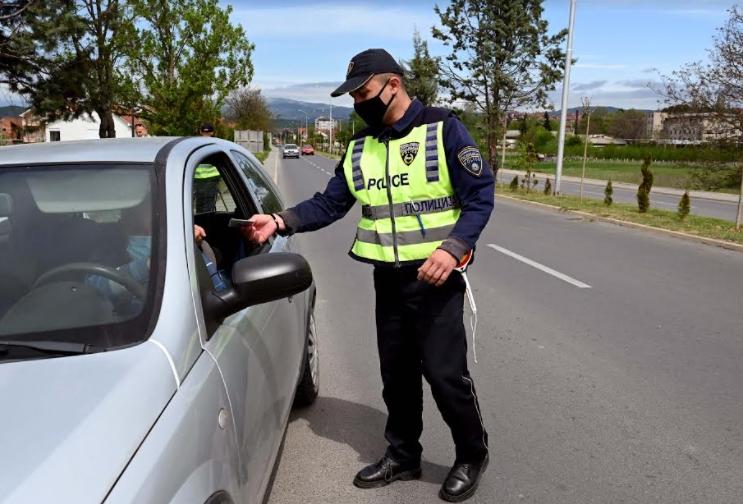 За 6 часа казнети 52 возачи во Скопје