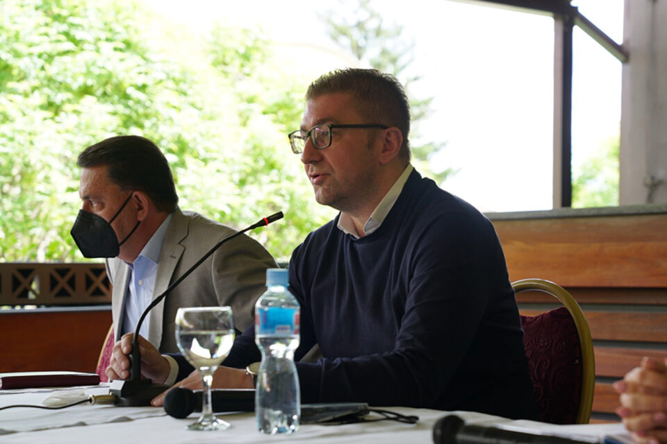 Мицкоски: ВМРО-ДПМНЕ поддржува изградба на Клинички центар, но само со  дисперзиран проект направен преку транспарентна методологија и постапка која што ќе биде на увид на граѓаните, а не ваков каков што е