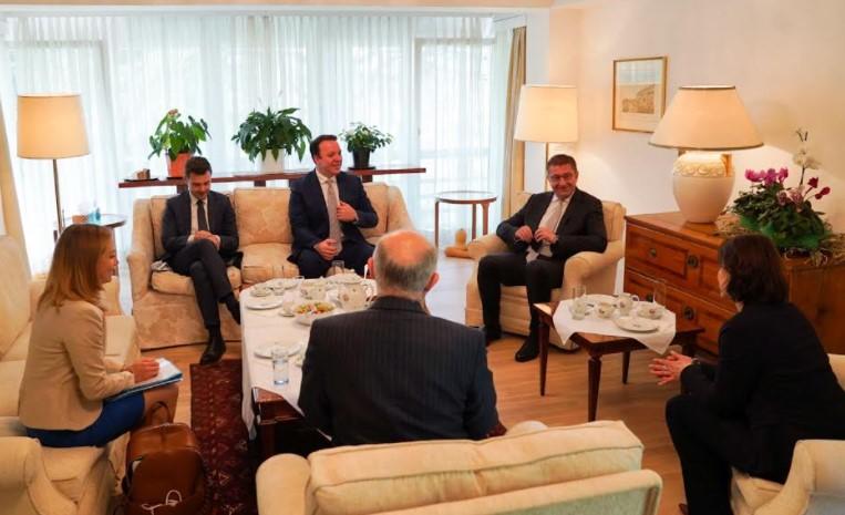 Мицкоски оствари средба со Каролине Едштадлер, министер за Европа и Устав на Австрија