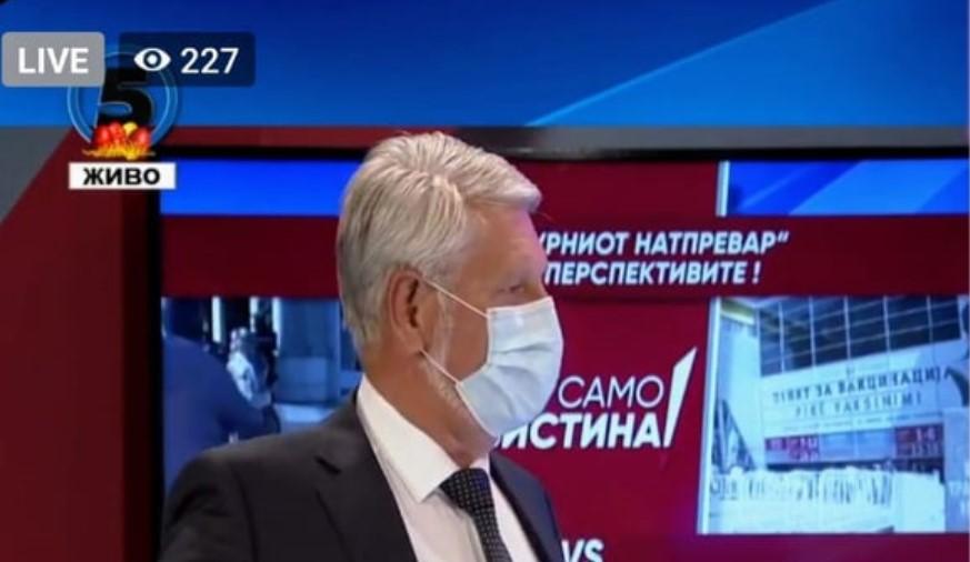 Јакимовски: Ниту еден криминал не е откриен од надлежните органи, туку од опозицијата и под притисок на јавноста