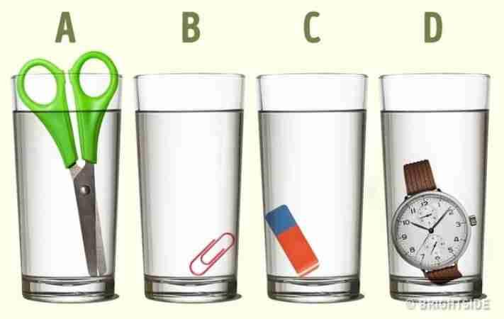 Тест на интелигенција: Во која чаша има повеќе вода? (ФОТО)