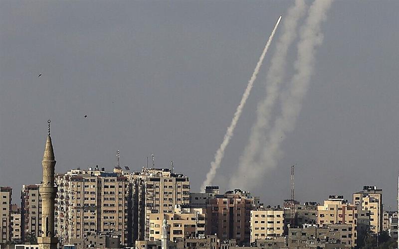 Од појасот Газа се испалени десетици ракети кон Ерусалим (ВИДЕО)