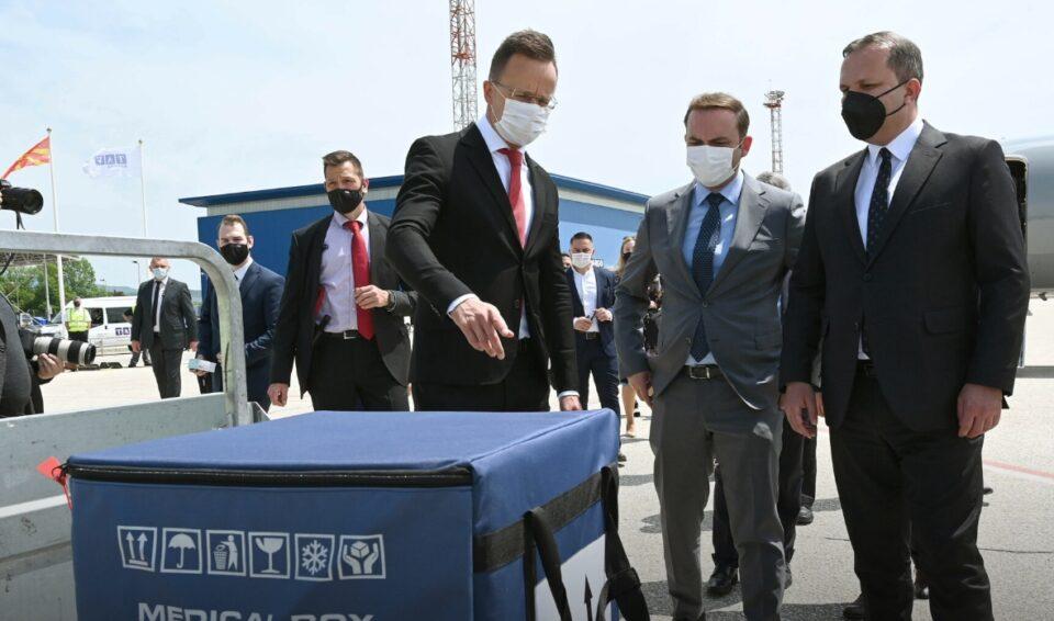 """Донираните вакцини од Унгарија граничната полиција ќе ги трампа за """"Синофарм"""""""