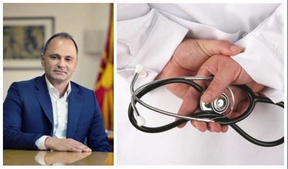 Филипче повторно ги извиси вработените во здравството: Се уште го немаат добиено најавеното мартовско покачување на платата