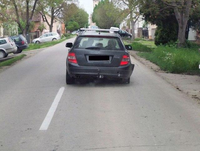 ФОТО: Пијан возач возел автомобил без гуми, еве колку алкохол имал во крвта