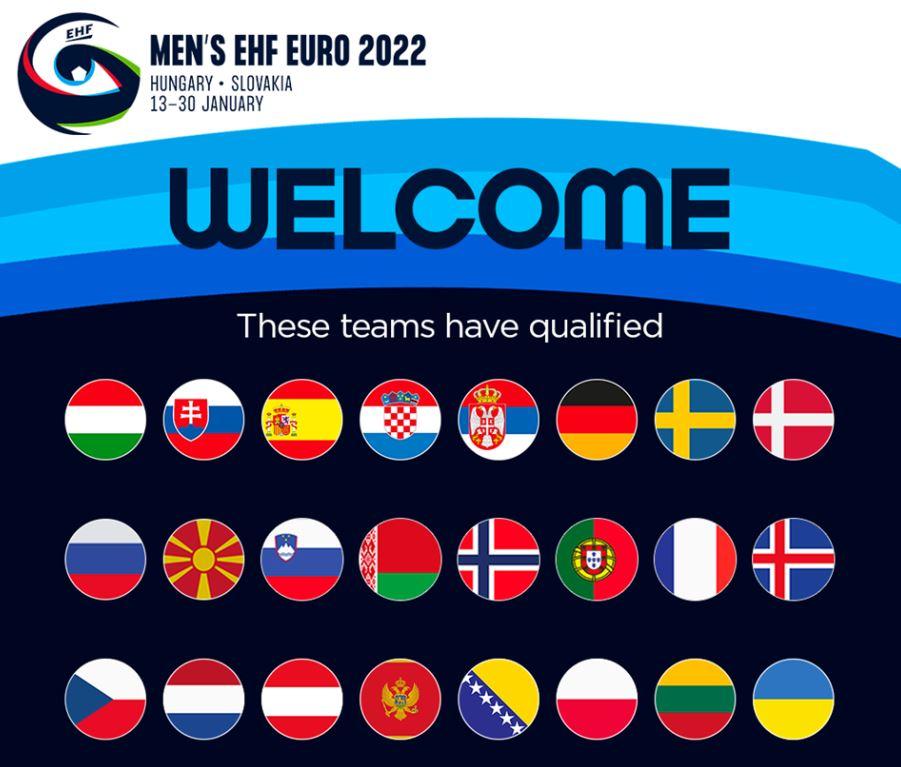 Познати сите учесници кои ќе учествуваат на ЕП за ракометари во Унгарија и Словачка