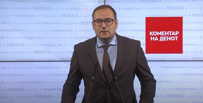 Здравковски: СДСМ и Царовска да ги симнат розевите очила и да ја погледнат вистината во очи