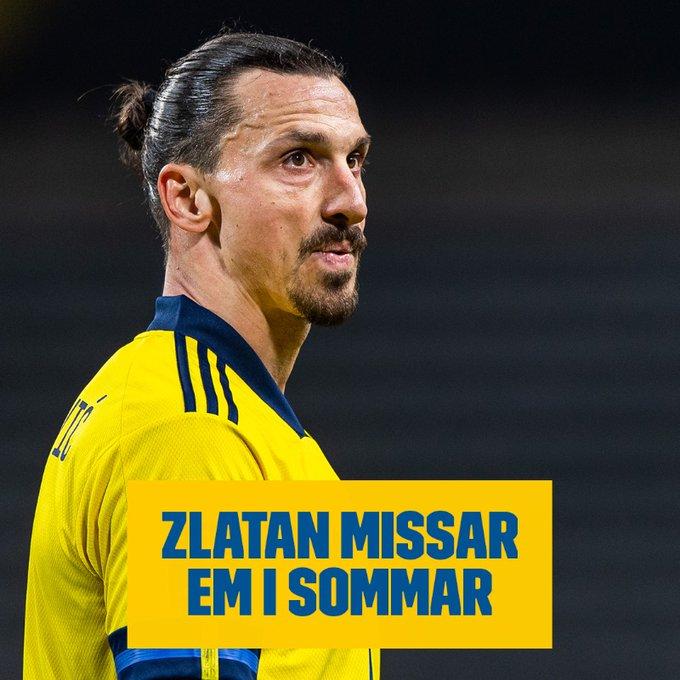 Златан Ибрахимовиќ го пропушта ЕП во фудбал