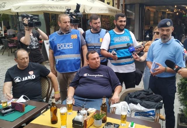Македонците во шок – дочекаа полицијата да ги праша како си поминуваат во Букурешт!
