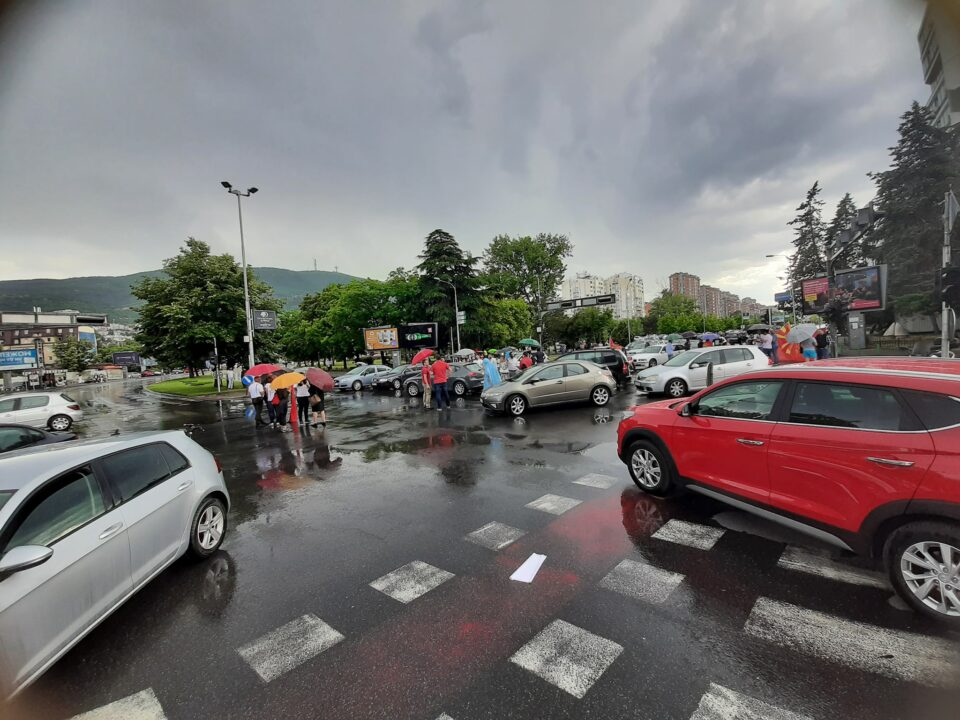 Полицијата повторно иницираше инцидент на протестите на ВМРО-ДПМНЕ во Охрид (видео)
