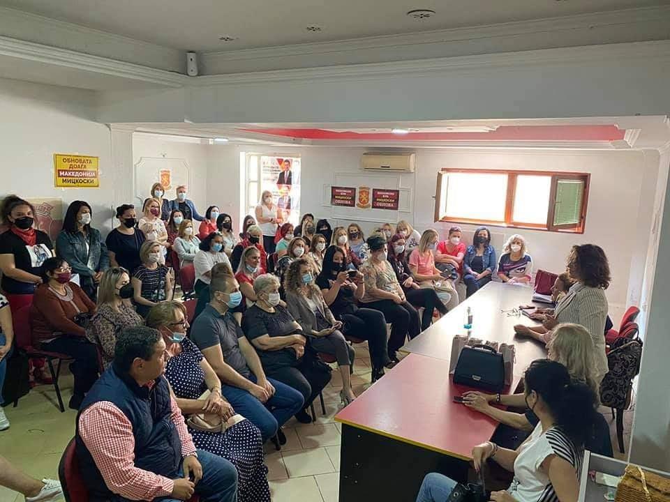 Жаклина Пешевска од ВМРО-ДПМНЕ во посета на Прилеп