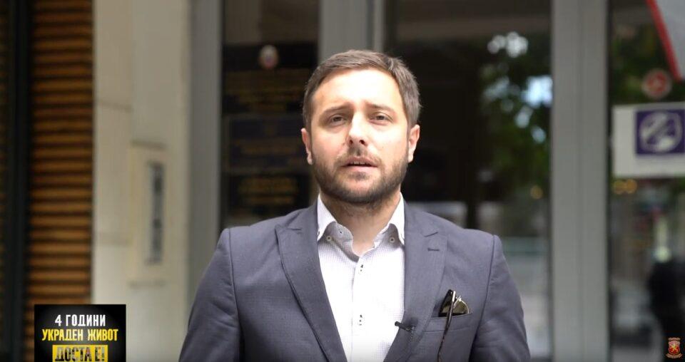 Арсовски: Бараме народниот правобранител Зибери да се изјасни за непочитувањето на Законот за судови од страна на Иван Џолев