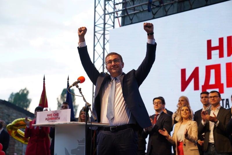 Мицкоски најави голем новитет за партијата: ВМРО-ДПМНЕ ќе се врати на вистинските патеки
