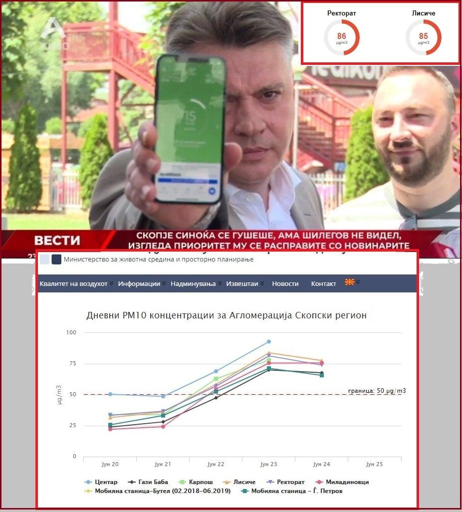 Стоилковски: Шилегов наместо да се кара со новинарите, нека види дека кај Ректорат и Лисиче има загаденост