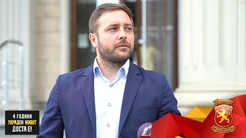 Арсовски: Џолев има избор или да биде слуга на Зоран Заев или да го почитува законот што впрочем е и негова обврска