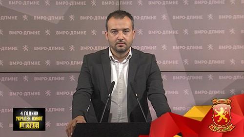 Лефков: Заев воведува нов данок на сите горива и зголемување на цената за 4.13 денари, остана уште данок во крв да воведат