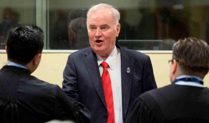 Потврдена доживотната затворска казна на Ратко Младиќ