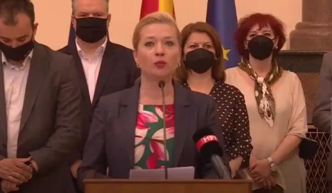 Василевска: Реформите на власта се всушност гол популизам, зад истиот се кријат намерите за злоупотреба на 21.5 милиони евра заем од Светската банка