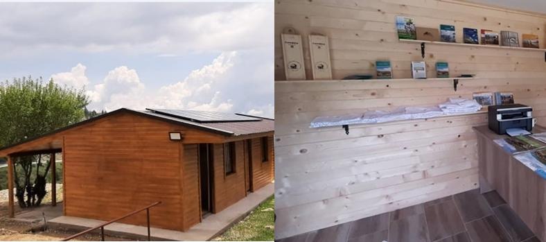 Информативно-едукативен центар на Попова Шапка и две соларни еко-зони за одмор во две бачила