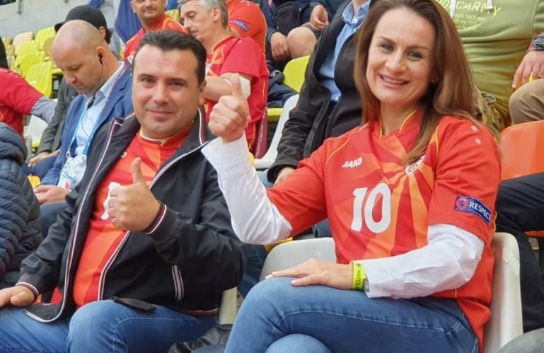 """Заев им се обрати на фудбалерите: """"Ние сѐ уште се загреваме за Европа""""!"""