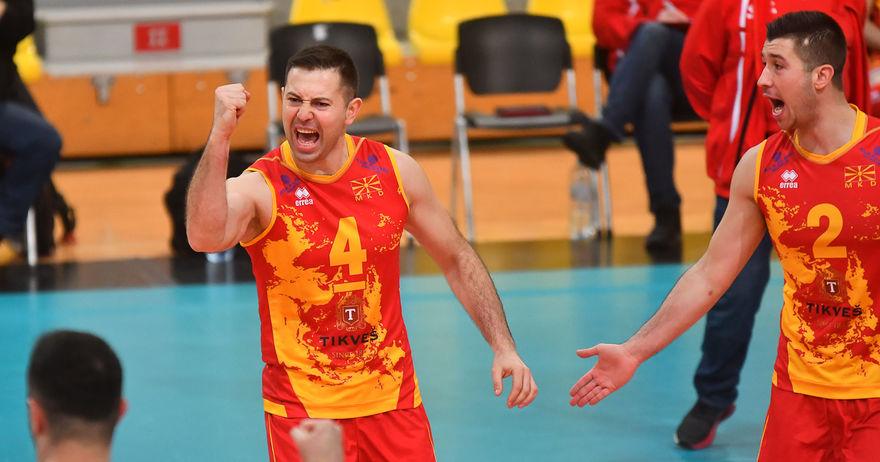 Македонија се пласира во финалето на одбојкарската Сребрена Лига