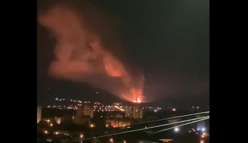 Страшна ноќ во Србија: Гореше фабрика за муниција, серија силни експлозии ги вознемирија граѓаните (ВИДЕО)