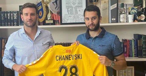 Чаневски четири години на голот на Бутел Скопје
