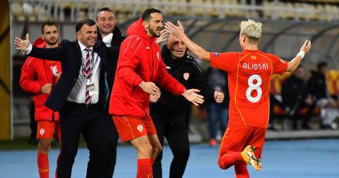 Денеска фудбалската репрезентација на Македонија ќе дебитира на ЕП