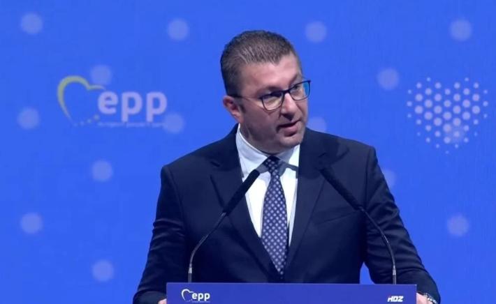 Мицкоски: Заев ја донесе државата во ќорсокак потребни ни се европските интеграции за обезбедување на иднината