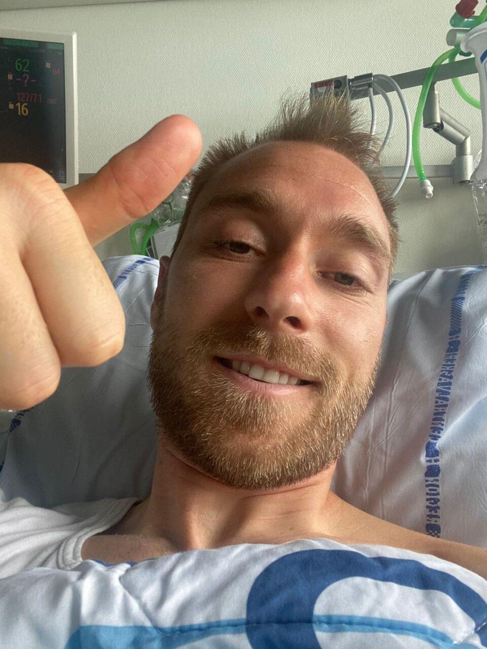 Ериксен првпат по срцевиот удар на тренинг на Интер