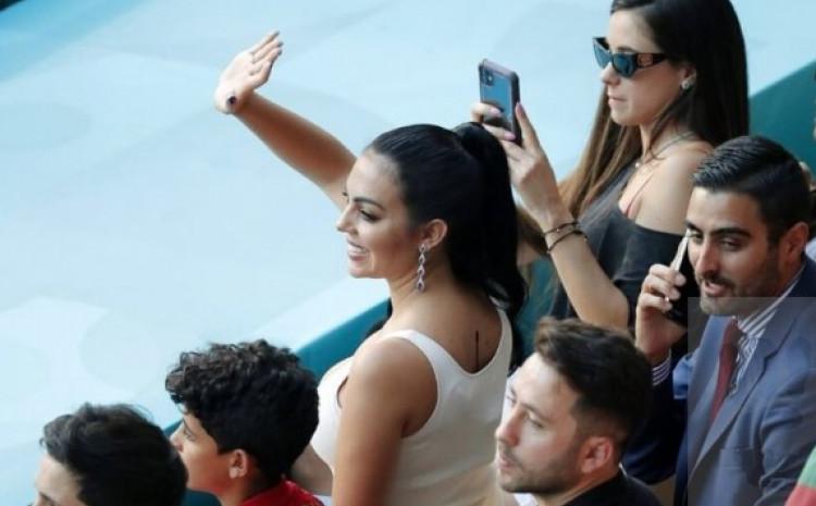 Зошто Георгина Родригез беше озвучена на мечот меѓу Португалија и Белгија?