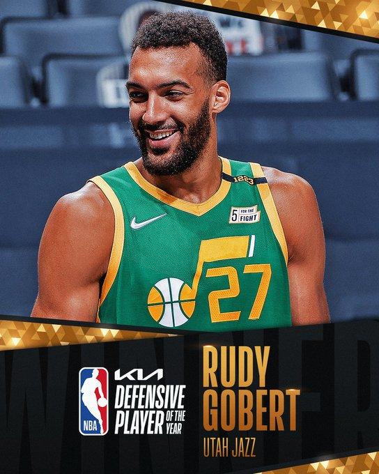 Руди Гобер дефанзивец на годината во НБА лигата