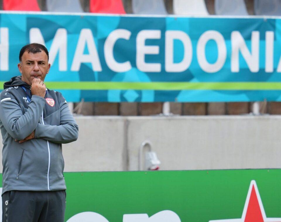 Ангеловски: Во второто полувреме ја видовме вистинската Македонија- заслужено сме на ЕП