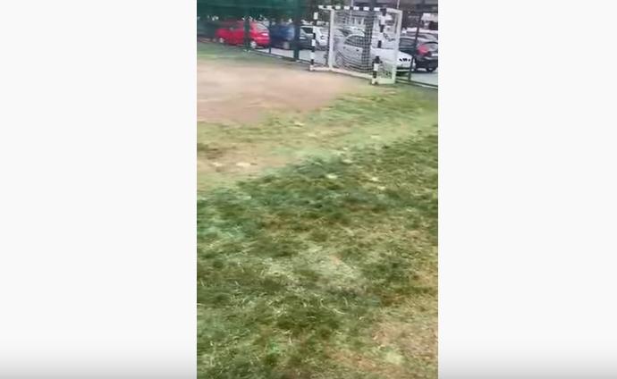 ВИДЕО: Игралиштето Бојмија како изорана нива, Марин се фали дека направил парк