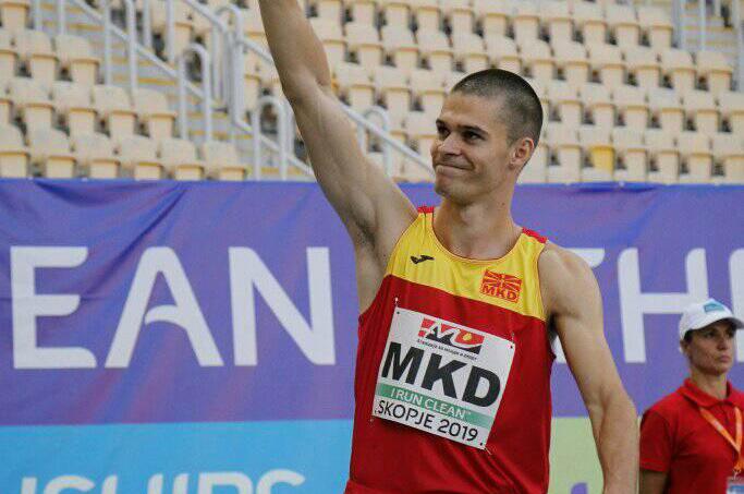 Стојоски ќе ја брани честа на македонската атлетика на ОИ во Токио