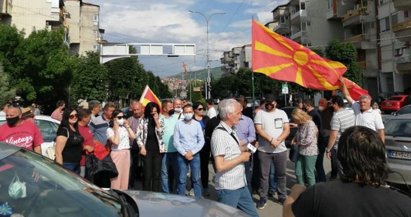 Граѓаните од Кавадарци излегоа на барикадите: Стоп за предавствата!