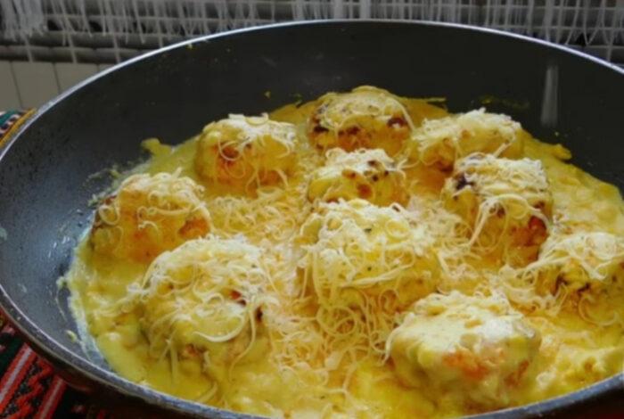 Идеја за ручек: Пилешко ќофте во сос од сенф