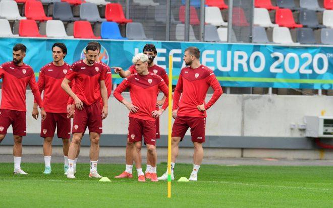 Македонија го одработи последниот тренинг пред историскиот настап на ЕП (ФОТОГАЛЕРИЈА)