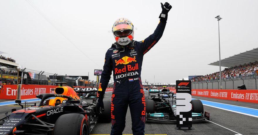 Макс Верстапен ја освои пол позицијата за трката за ГН на Франција