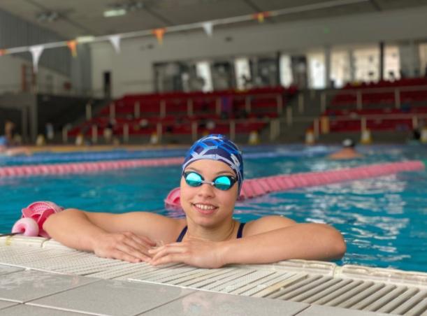 Пливачката Миа Блажевска Еминова обезбеди норма за настап на Олимпијадата во Токио