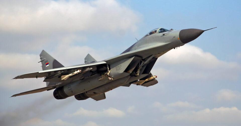 Се урна бугарски МиГ-29, судбината на пилотот сè уште не е позната