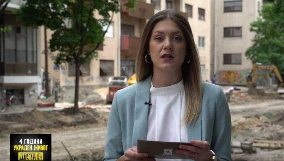 Митева: Шилегов и Богдановиќ го уништуваат зеленилото во Скопје, зачувувањето на животната средина за нив е само збор кој се користи во предизборна кампања