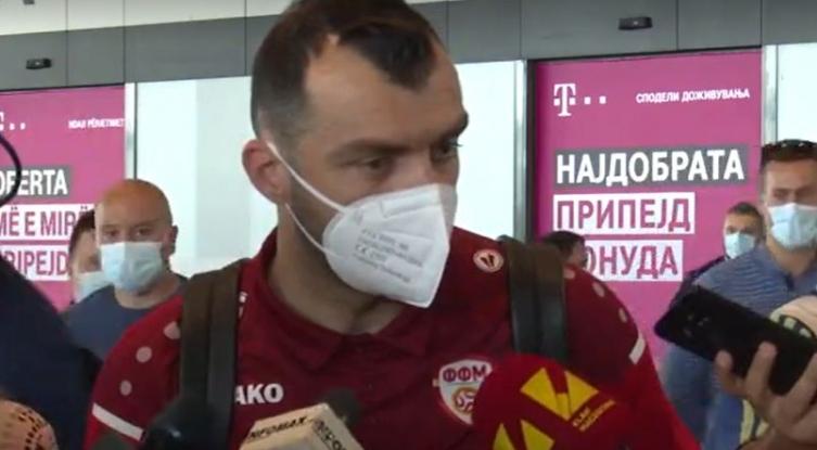 Пандев: Ангеловски требаше да остане до крајот на квалификациите за СП