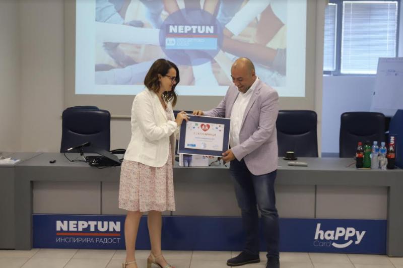 СОС Детско село и Нептун навиваат заедно во недела