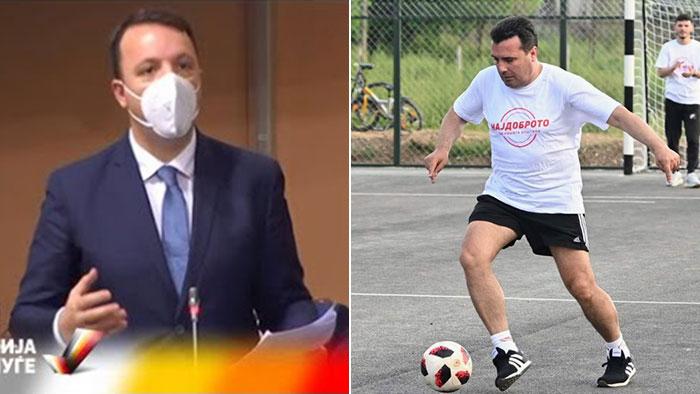 ИМА РАЗЛИКА: Премиерот Заев од стадион на стадион, опозицијата грчевито се бори за македонските национални интереси